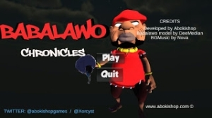 Nice! Check Out The First 3D Android Game Made In Nigeria [BABALAWO The First Chronicle]